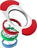 Vremi Apple Slicer and Corer - 3 in 1 Apple Slicer Potato Slicer Cutter for French Fries and Mango Slicer Corer - 8 Apple Wedge Slices or 36 Potato Slices Interchangeable Stainless Steel Metal Blades