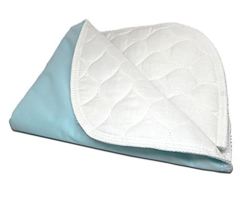 RMS Ultra Soft 4-Layer Washable and Reusable Incontinence Bed Underpad, 34'X54'
