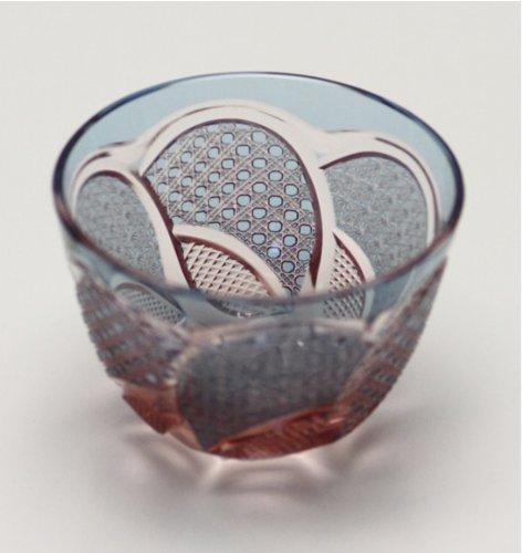 Edo Kiriko Guinomi (Sake Glass) Hanashyo