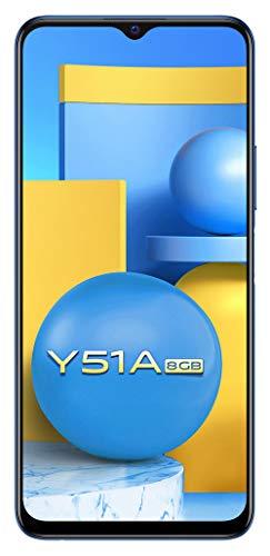 Vivo Y51A (Titanium Sapphire, 8GB, 128GB Storage) with No Cost EMI/Additional Exchange Offers