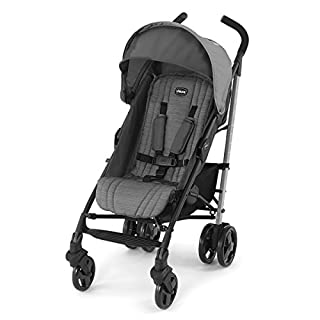 The Liteway Stroller features a lightweight aluminum frame, compact fold, automatic storage latch, and carry handle for on-the-go convenience. The backrest is easy to adjust with one hand, with a total of four positions to accommodate growing childre...