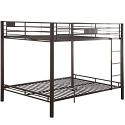 ACME Kaleb Queen/Queen Bunk Bed – 38015 – Sandy Black