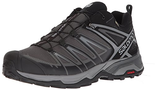 Salomon Men's X Ultra 3 GTX Hiking Boot, Black, 10 M US