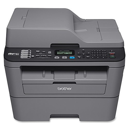 Brother Monochrome Laser Printer, Compact All-In One Printer, Multifunction Printer, MFCL2710DW, Wireless Networking and Duplex Printing, Amazon Dash Replenishment Enabled