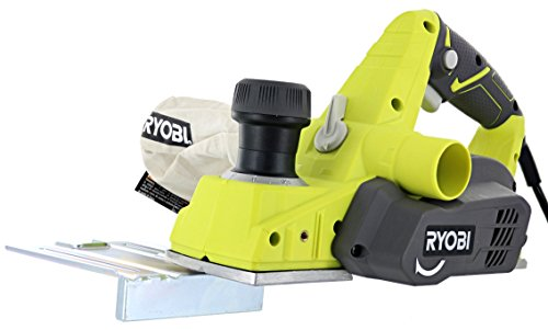 Ryobi HPL52K 6 Amp 16,500 RPM 3 1/4' Corded Hand Planer w/ Kickstand and Dual Dust Ports