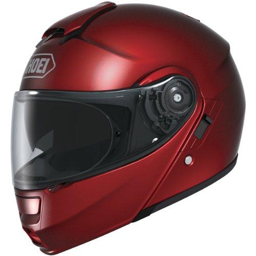 Shoei Metallic Neotec Road Race Motorcycle Helmet