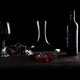 YouYah-Iceberg-Wine-Decanter-Set-with-Aerator-FilterDrying-Stand-and-Cleaning-BeadsRed-Wine-CarafeWine-AeratorWine-Gift100-Hand-Blown-Lead-free-Crystal-Glass-1400ML
