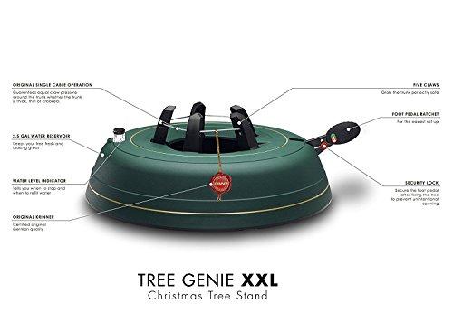Krinner Tree Genie Tree Genie XXL  Christmas Tree Stand, Green