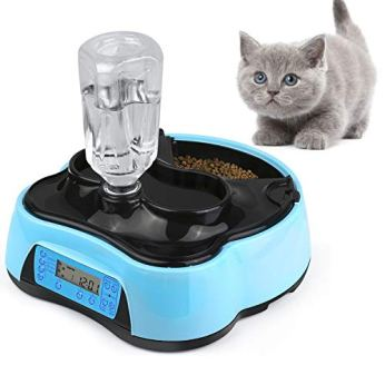 Xuliyme-Automatic-DogCat-Feeder-Auto-Pet-Food-Dispenser-with-LCD-DisplayVoice-Record-Remind-Timer-Programmable-Portion-Control-for-Medium-Large-Dog-4-Meals-a-Day