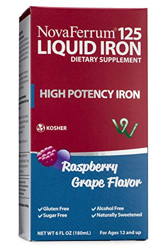 NovaFerrum Liquid Iron Supplement