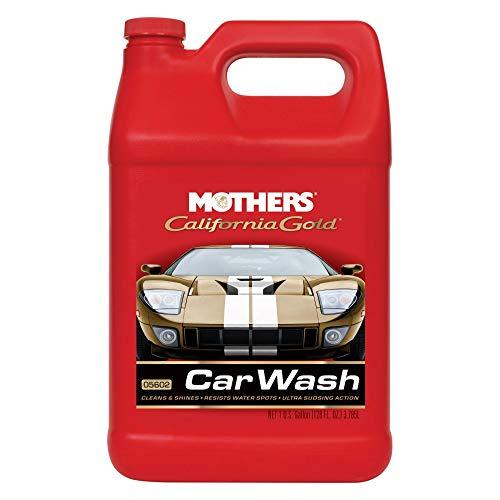 Mothers 05602 California Gold Car Wash - 1 Gallon