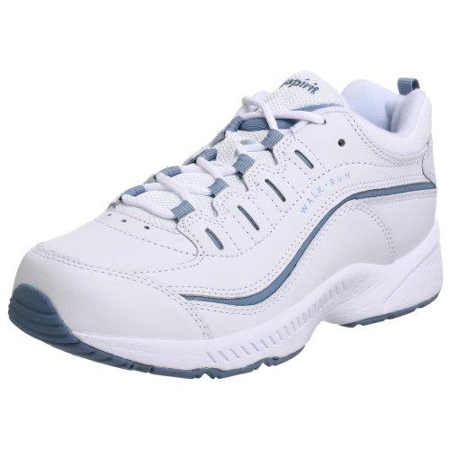 Easy Spirit Women's Romy Sneaker, White Light Blue, 8.5 M US