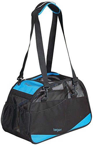 Bergan Voyager Comfort Carrier - Black/Blue - Large