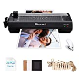 13 inches Laminator, Blusmart Multiple Function A3 Laminator with 25 Laminating Pouches, Paper Cutter, Corner Rounder Laminate for A3,A4,A5,A6