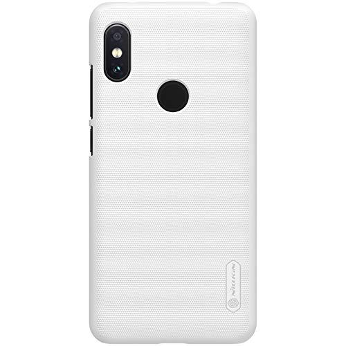 Nillkin Case for Xiaomi Redmi Note 6 Pro Super Frosted Hard Back Cover Hard PC White Color 1