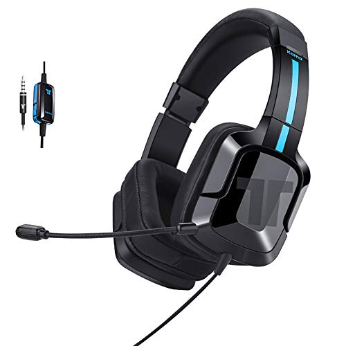 TRITTON Kama Plus Stereo Gaming Headset for PC, PS4, Xbox One, Noise Cancelling Gaming Headphone for Mac, Laptop, Nintendo Switch