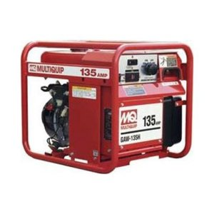 Multiquip GAW135H Gasoline Powered Welder/Generator with Honda Motor, 1500 WATT, 40-135 Amps