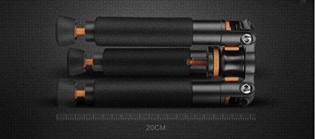 Bestshoot-Desktop-Mini-Tripod-Load-3KG-Universal-3-Legs-Monopod-Base-Stand-Unipod-Support-Compatible-with-Canon-60D-60D-5D-Nikon-D90-Sony-A58-A7RII-DSLR-Cameras-Video-Micro-Shooting