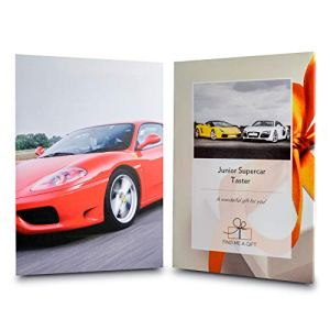 Activity Superstore Driving Experience Days Gift Experience Voucher for Teenagers – Junior Supercar Taster, Choose from…