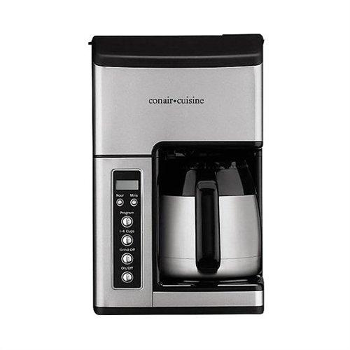 Conair CC-10FR coffeemaker 10 Cup Silver