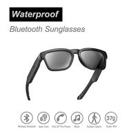 OhO Bluetooth Sunglasses,Open Ear Audio Sunglasses Speaker to Listen Music and Make Phone Calls, Water Resistance and…