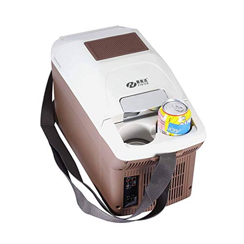Portable Mini Fridge 9 Liter, Electric Cooler and Warmer, Thermoelectric System Refrigerator On The Go for Car and Home