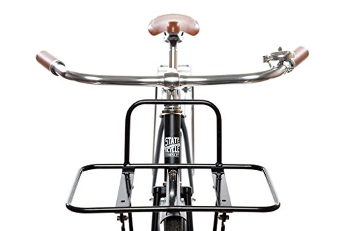 State Bicycle Co. Front Porteur Rack/Flat Rack, Black