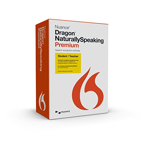 Dragon NaturallySpeaking Premium 13, Student/Teacher Edition (Discontinued)