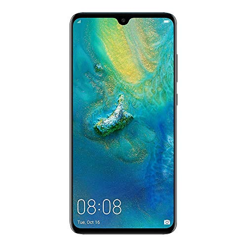 "Huawei Mate 20 (128GB, 4GB) 6.53"" FHD+ Display, Triple Camera, 4000 mAh Battery, 4G LTE GSM Dual SIM Global Unlocked (HMA-L29) - International Version - No Warranty (Twilight)"