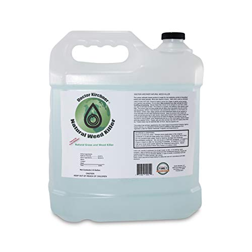 Natural Weed Killer (2.5 Gallon) | Ocean Water Made | Commercial Food Grade Vinegar | Pet Safe, Kid Safe | Safe to Replant | Natural Herbicide | See Results in Hours