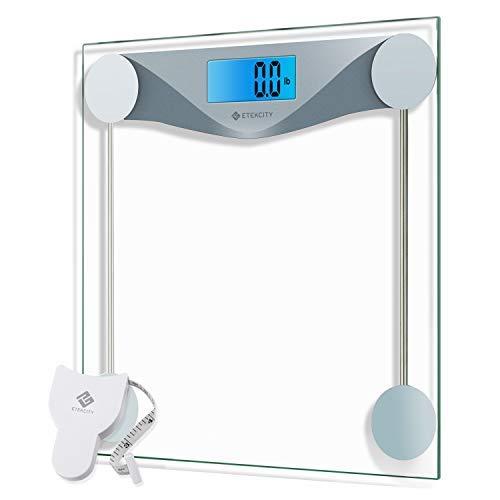 Etekcity Digital Body Weight Bathroom Scale with Body Tape...