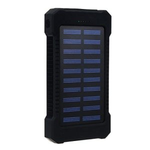 Gotd 30000mAh Dual USB Portable Solar Battery Charger Solar Power Bank For Phone