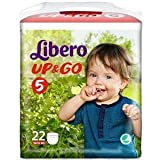 Libero Up & Go Diapers Size 5 (10-14 kg) 22 pieces