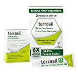 Terrasil Tinea Treatment 2-Product Ointment and Cleansing Bar System with All-Natural Activated Minerals 6X Tinea Fungus Fighting Power (14gm Tube + 75gm bar)