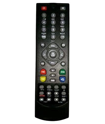 Compatible TV Remote Control for Solid HDS2-9048Eco MPEG-4 Set-Top Box by KT 85