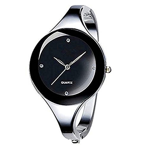 •Synthetic diamond wristwatch for women. •Professional watch brands, fashionable simple and stylish bracelet watch. •Alloy watch casing with robust structure.