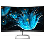 Philips 328E9QJAB 31.5' Curved Frameless Monitor, Full HD 1080P, 128% sRGB & 102% NTSC, FreeSync, HDMI/DisplayPort/VGA, VESA