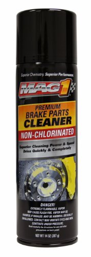 Mag 1 409 Non-Chlorine Re-formulated Brake Cleaner - 14 oz., (Pack of 12)