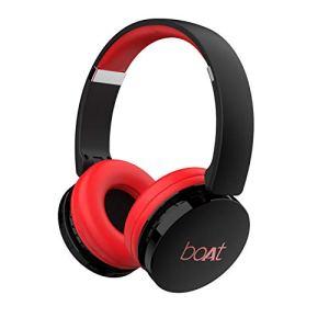 boAt Rockerz 370 Wireless Headphone with Bluetooth 5.0, Immersive Audio, Lightweight Ergonomic Design, Cosy Padded…