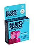 SILENT SNOOZ Nasal Dilator Anti Snore Device - Reusable Unscented Nose Vent (30 Uses)