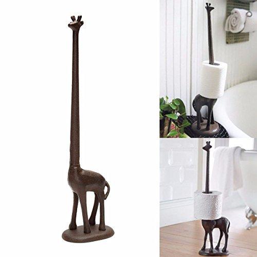 Hansemay Cast Iron Giraffe Toilet Roll H Buy Online In China At Desertcart