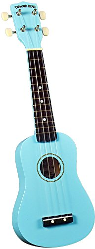 Diamond Head DU-106 Rainbow Soprano Ukulele - Light Blue