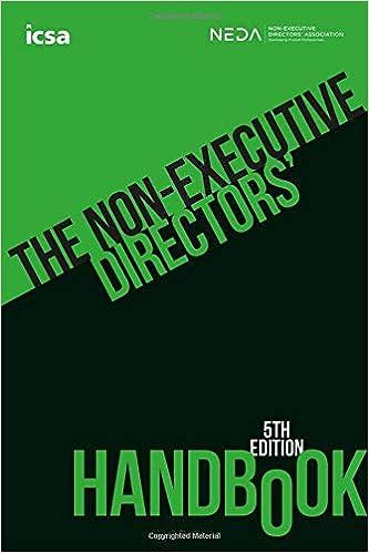 The Non-Executive Directors' Handbook, 5th edition