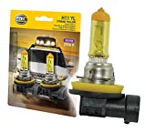 HELLA H11 Yellow-55W YL Xtreme Yellow Bulbs, 12V, 55W, 2 Pack