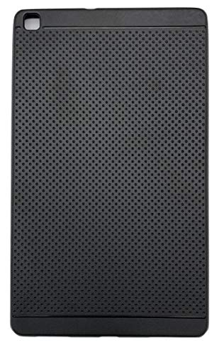 KANICT Dotted Finished Soft Rubbersied Back Case Cover for Samsung Galaxy Tab A 8.0 (2019) (Wi-Fi) SM-T290 -Black 143