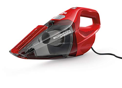 Dirt Devil Scorpion Quick Flip HV 7A Vacuum (Red), SD20005RED ( Design might vary)