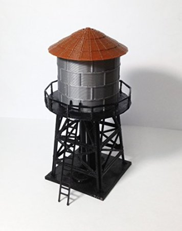 Outland-Models-Train-Railway-Layout-Trackside-Water-Tower-HO-Scale-187