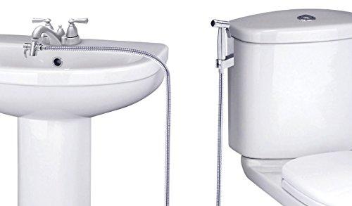 SmarterFresh Faucet Sprayer Warm Water Bidet