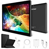 4G LTE 10.1 Inch Android Tablet PC Android 7.0, OTG, 2GB RAM, Hard Disk 32GB 8500mAh Battery - IPS Screen HD 1280 800 Pixel WiFi Tablets Phablet (Black)
