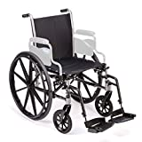 Invacare TRSX50FBFP/ T93HCP Tracer SX5, 20'W Seat, Full Length Arms